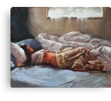Sleeping In Canvas Print