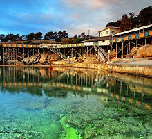 Restricted Access - Coogee, NSW by Malcolm Katon