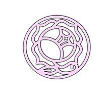 Utena Rose Ring Photographic Print