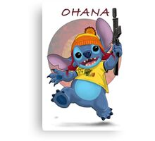 Ohana: Firefly/Stitch Mashup Canvas Print