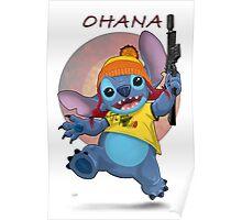 Ohana: Firefly/Stitch Mashup Poster