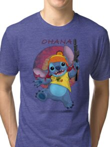 Ohana: Firefly/Stitch Mashup Tri-blend T-Shirt