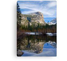 Mt. Watkins at Mirror Lake Canvas Print