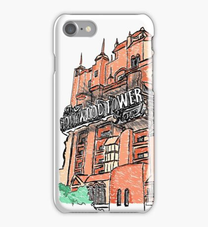 Hollywood Tower!  iPhone Case/Skin
