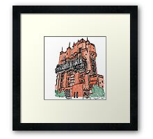 Hollywood Tower!  Framed Print