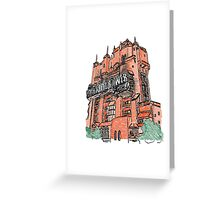 Hollywood Tower!  Greeting Card