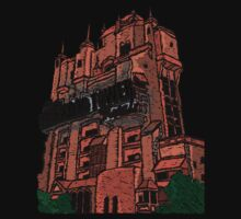 Hollywood Tower!  One Piece - Long Sleeve