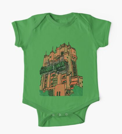 Hollywood Tower!  One Piece - Short Sleeve
