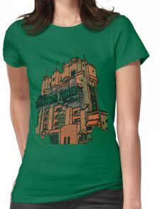 Hollywood Tower!  Womens Fitted T-Shirt