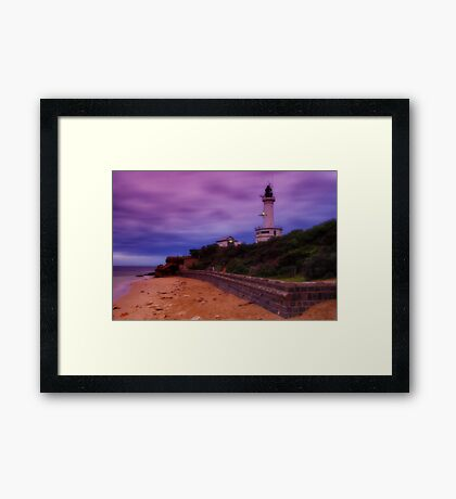 """Twilight Storm"" Framed Print"