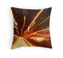 brisbane streets Throw Pillow