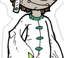 costumed boy 2: semi-colored version... Sticker
