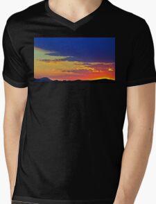 New Mexico Sunset Mens V-Neck T-Shirt