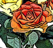 ROSE T Sticker