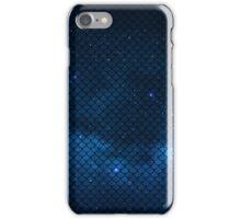 Mermaid in Space! (blue edition) iPhone Case/Skin