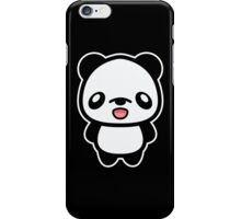 Happy Kawaii Panda iPhone Case/Skin