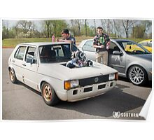 VW Rabbit Poster
