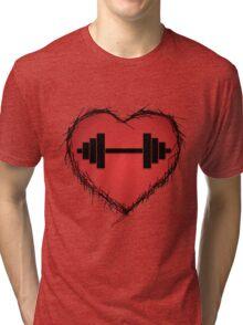 GYM LOVE Tri-blend T-Shirt