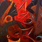 Jazz- 09 by Donna Raymond