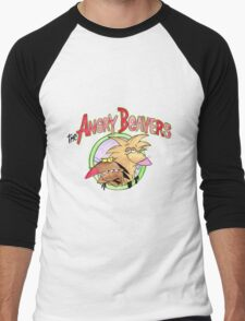 Angry Beavers Men's Baseball ¾ T-Shirt