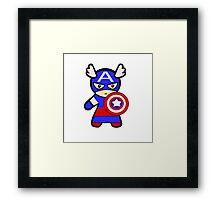 MARVEL : Captain America  Framed Print