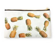Floating Pineapple Vintage Clutch Studio Pouch