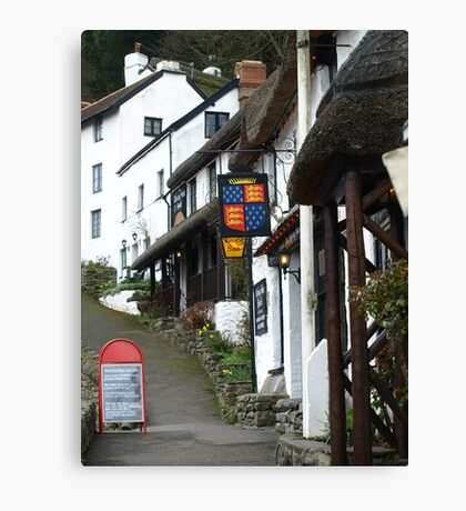 Thatched Street! Canvas Print