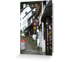 Thatched Street! Greeting Card