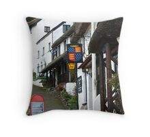 Thatched Street! Throw Pillow