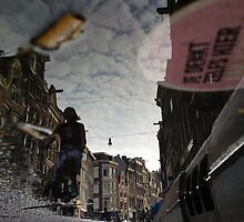 Reflections of Amsterdam - Dark City by AmsterSam