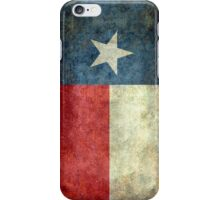 "The ""Lone Star Flag"" of The Lone State Texas iPhone Case/Skin"