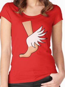 Messenger Light Women's Fitted Scoop T-Shirt