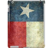 """The """"Lone Star Flag"""" of The Lone State Texas iPad Case/Skin"""