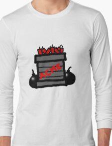Cartoon TNT/Dynamite stack [Big] Long Sleeve T-Shirt