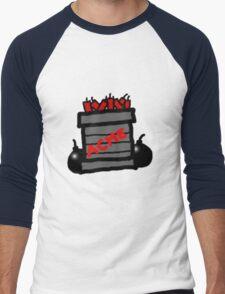 Cartoon TNT/Dynamite stack [Big] Men's Baseball ¾ T-Shirt