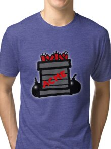 Cartoon TNT/Dynamite stack [Big] Tri-blend T-Shirt