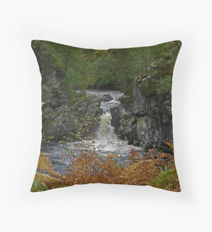 Autumn Afternoon - Ardverikie Estate Throw Pillow