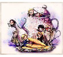 Teapot Teatime Photographic Print