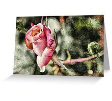 Rust 'n Roses Greeting Card