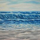 """Waves"" - Oil Painting by Avril Brand"