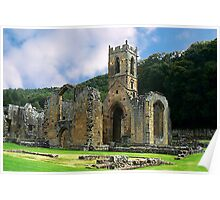 Mount Grace Priory - North Yorkshire Poster