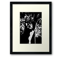 he oak Framed Print
