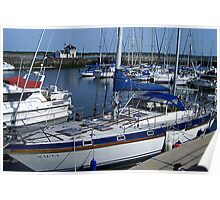 Caernarfon Harbour - North Wales Poster