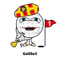 Golf Ball Photographic Print