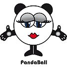 Panda Ball by brendonm