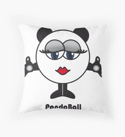 Panda Ball Throw Pillow