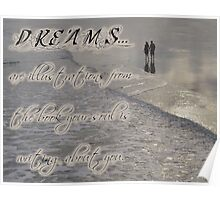 Dreams Quote Poster