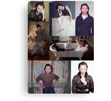 Tom Hiddleston 1883 Photoshoot Collage Canvas Print