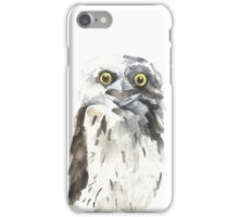 Tawny Frogmouth iPhone Case/Skin