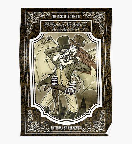 Steampunk JiuJitsu Poster